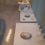 fossielen en vulkanen